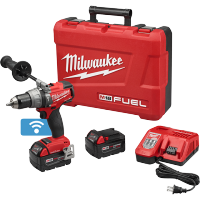 "Milwaukee M18 FUEL™ 1/2"" Hammer Drill/Driver with ONE-KEY™ Kit - 2706-22"