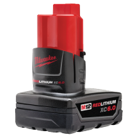 Milwaukee 48-11-2460 M12™ REDLITHIUM™ XC6.0 Extended Capacity Battery Pack