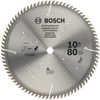 Bosch 10-Inch 80 Tooth Plywood and Finishing Saw Blade - PRO1080FIN