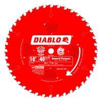 "Freud Diablo 10"" x 40 Tooth General-Purpose Saw Blade - D1040X"