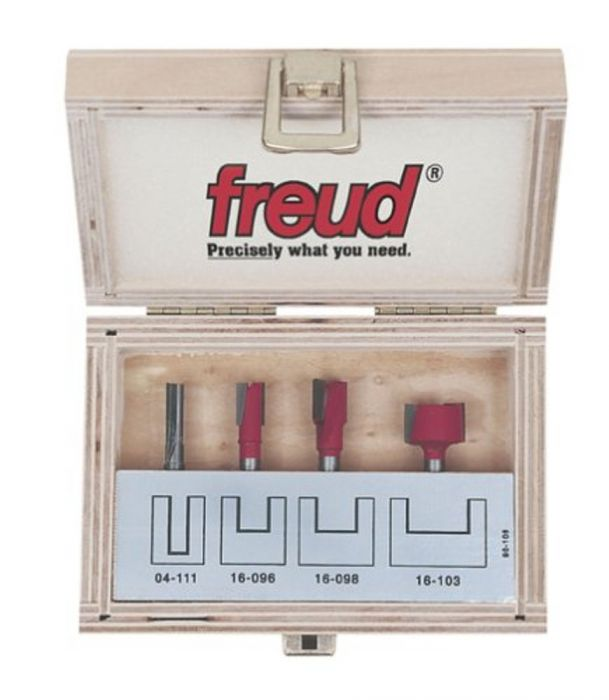 Freud 90-106  Four Piece Undersized Plywood Router Bit