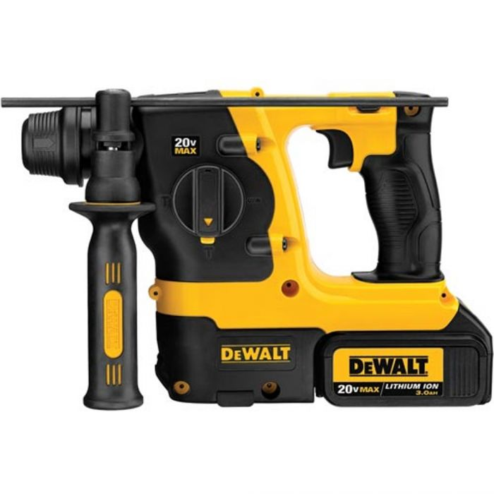 DeWalt 20V MAX* Lithium Ion 3 Mode SDS Rotary Hammer Kit (3 0 Ah) - DCH213L2
