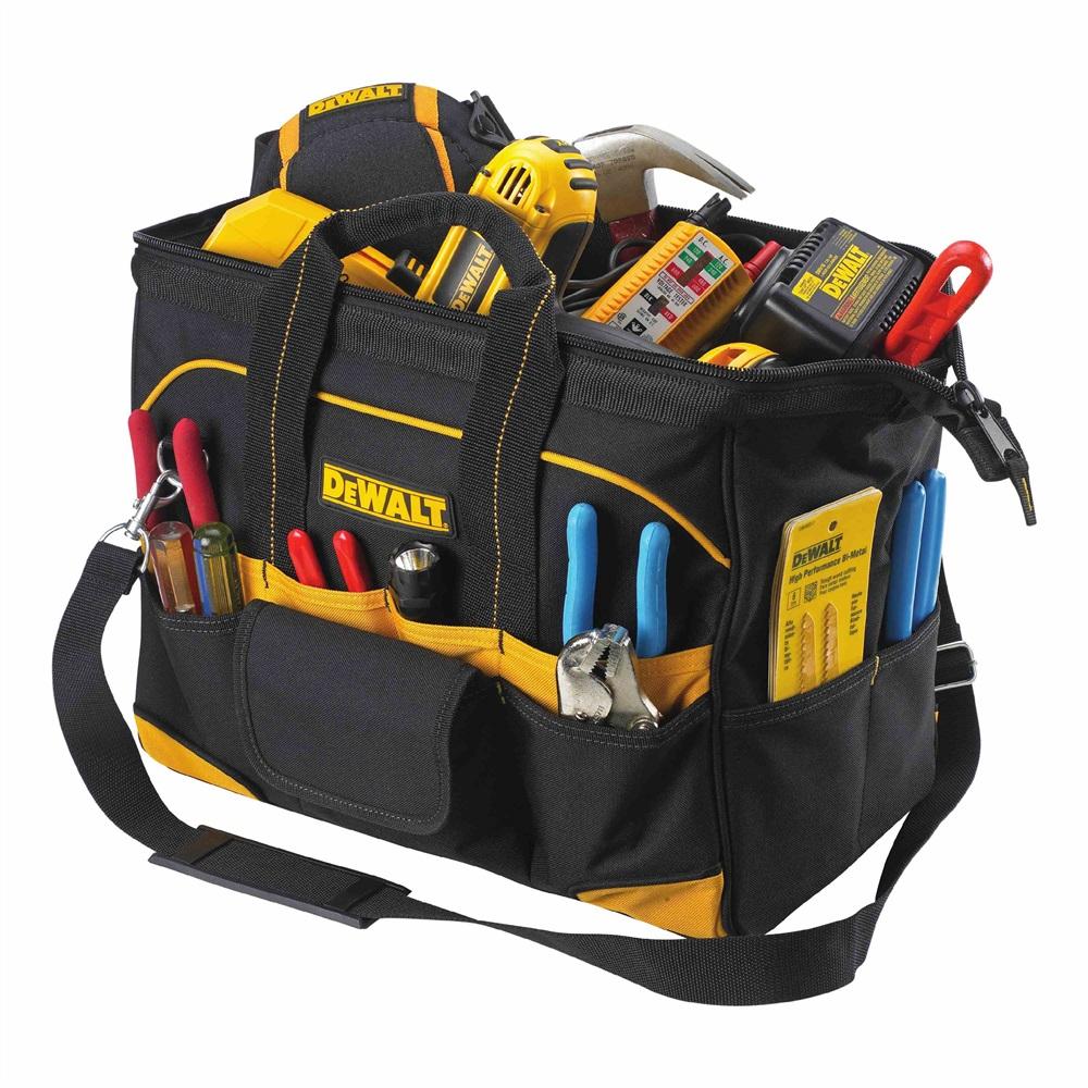 Klein Tools 55452 Tradesman Pro Organizer Rolling Tool Bag