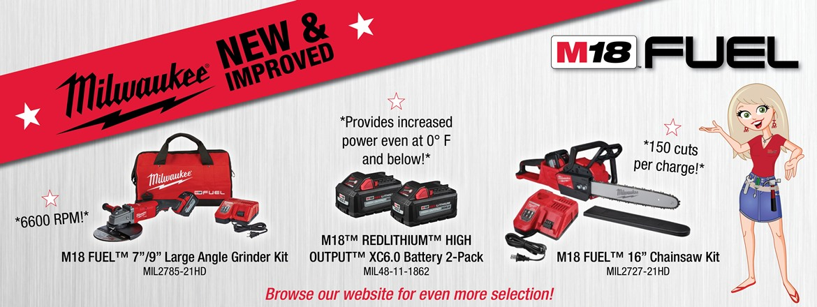 Milwaukee Tools Supplier Cordless And Power Tools